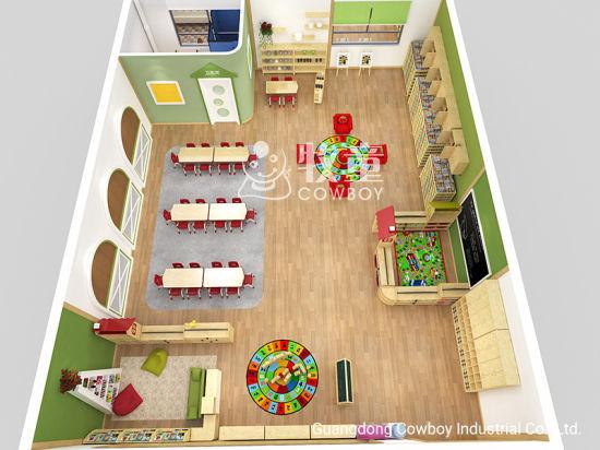 Montessori Kindergarten Nursery Preschool Classroom Furniture And Layout Design China Kids Furniture Preschool Furnitures Made In China Com