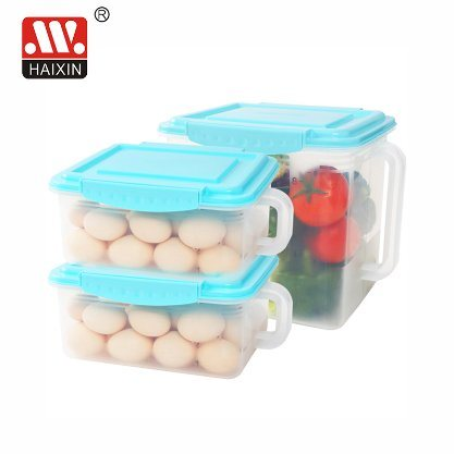 Kitchen Food Storage Food Packaging Plastic Container for Freezer Storage