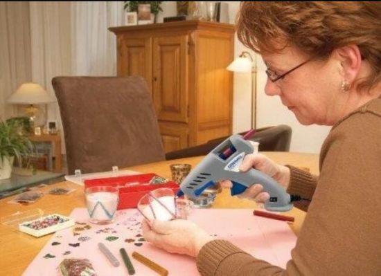 All Purposes EVA Hot Melt Adhesive Sticks Glue Sticks for DIY Gift Stationery