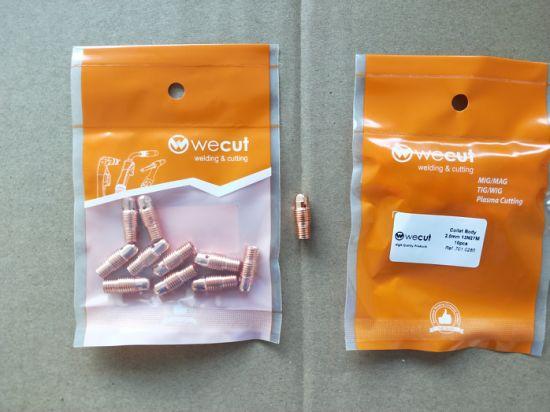 China Collet Body 13n27m 2 0mm Wecut Brand Welding Parts For Tig Welding Torch China 13n27m Collet Body