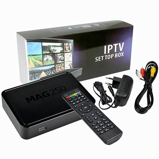 New Faster Infomir Mag 250 IPTV Set-Top Box Media Streamer Full HD TV 3D Mag250