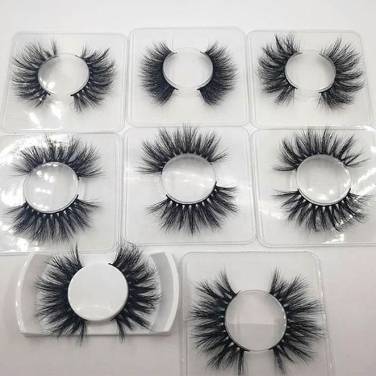 Uhair China Vendor Wholesale Bulk 100% Cruelty Free Big 3D Mink Strip Lashes 25mm Eyelashes pictures & photos
