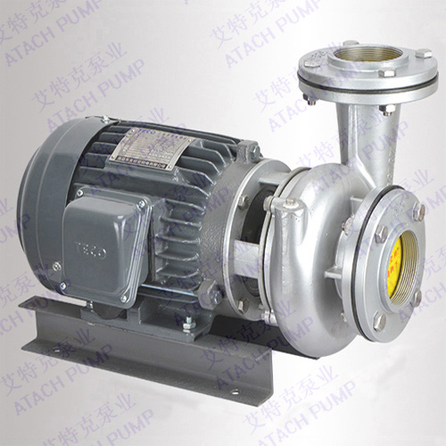 Tsm0125 Stainless Steel 316 & 304 Coaxial Close-Coupled Centrifugal Industrial Water Pump 1 HP 50/60Hz