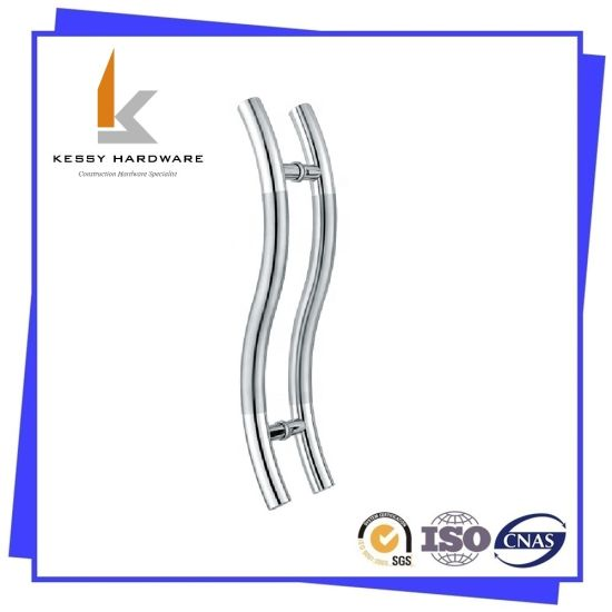 S Shape Stainless Steel Handle/Shower Door Handle Glass Door Handle