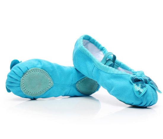 Best Price Flower Elegance Ballroom Ballet Dance Shoes on Sale