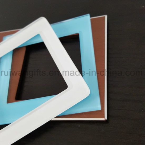 High Quality Electrical Appliance Wall Switch Glass Panel