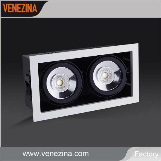 COB LED Downlight CREE 2X20W 5 Years Warranty Spot Light Recessed Ceiling Light