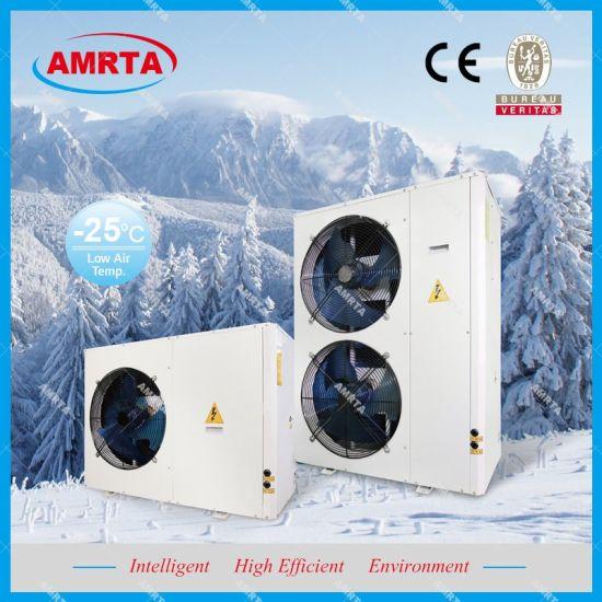 Air Source Heat Pump Water Heater - 10kw Evi Heat Pump