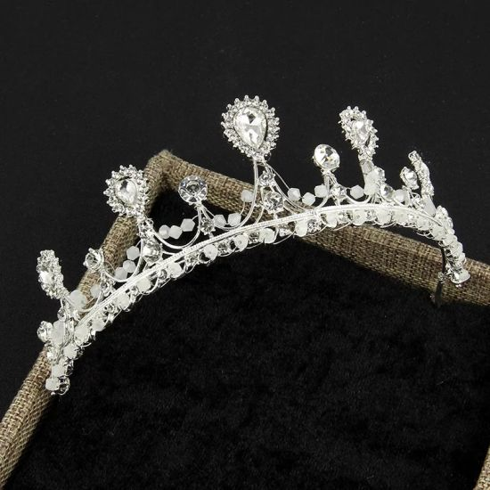Luxury Custom New Bridal Tiaras Jewelry Alloy Crown Hair Ornaments pictures & photos