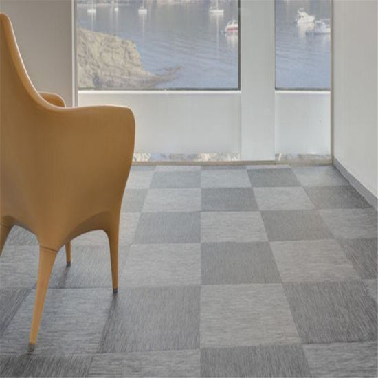 China Supplier Standard Size Woven Vinyl Flooring Roll And Tlies