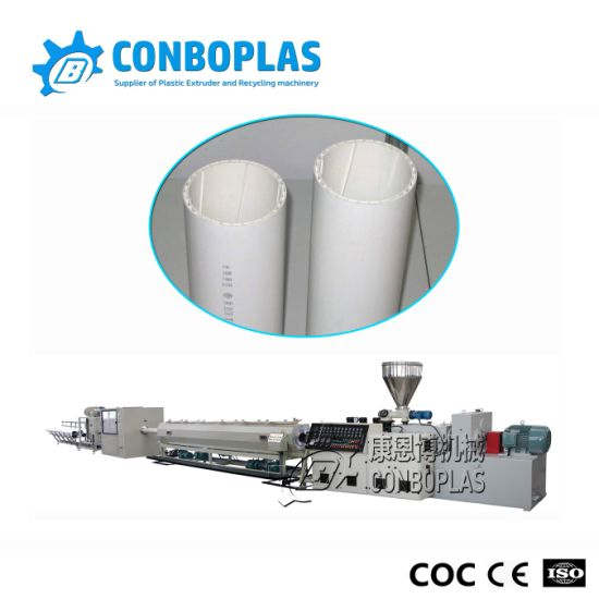 Plastic Soundproof PVC UPVC Drainage Sewer Tube Pipe Extrusion Production Line