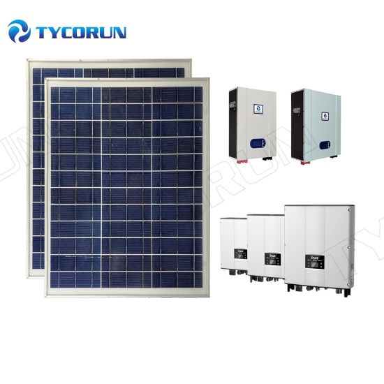 Tycorun Cheap Price Mini off Grid Home Solar Power System 5kVA Complete Solar System with Lithium Ion Batteries