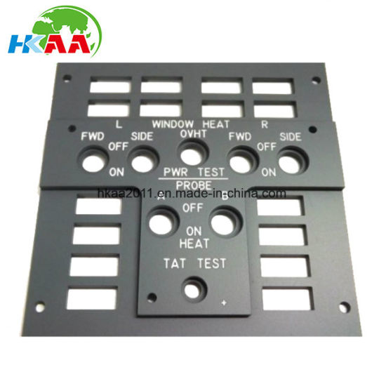 Customized Injection Moulded Plastic Aircraft Window Heating Panel