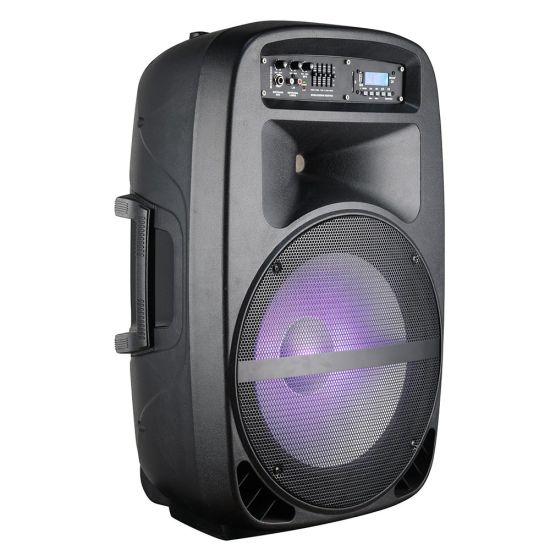 15inch Active Party Subwoofer Speaker with Power Mixer/USB/SD/Bluetooth pictures & photos