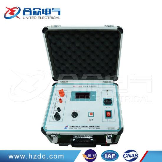 Digital LCD Contact Loop Resistance Test Instrument