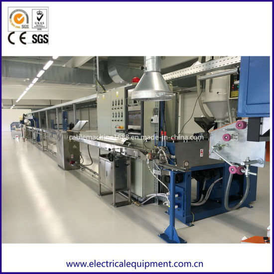 Wire Machine Factory Optical Fiber Cable Extruding Machinery pictures & photos