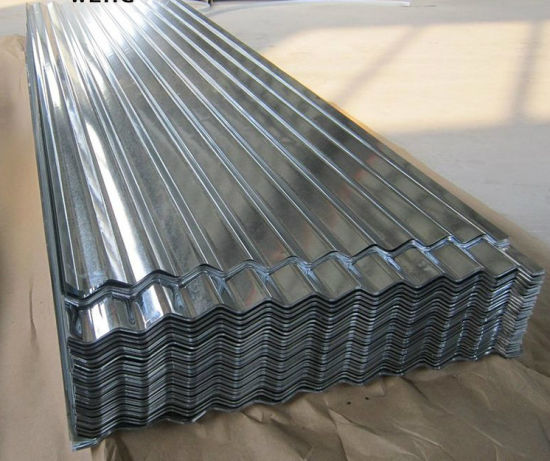 ULTIMATE QUALITY 8ft corrugated galvanised steel roof sheet iron tin  PACK OF 10