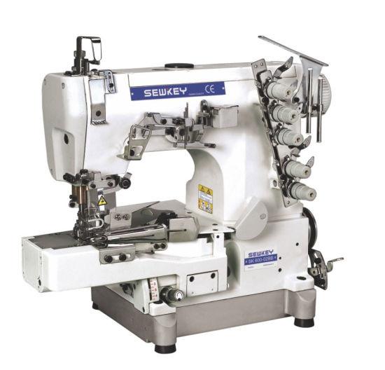 Sk600-02bb High Speed Interlock Sewing Machine for Tape-Binding