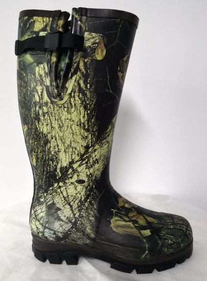 Camouflage High Quality Hungting Rubber Boots