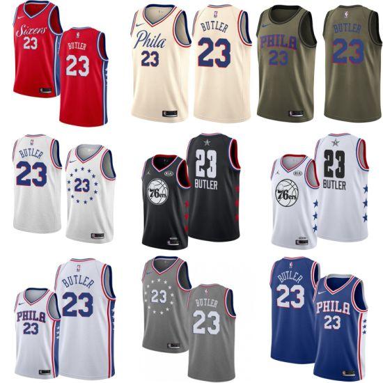 c2dcdafa China Wholesale 2019 Mens Kids 23 Jimmy Butler Swingman Basketball ...