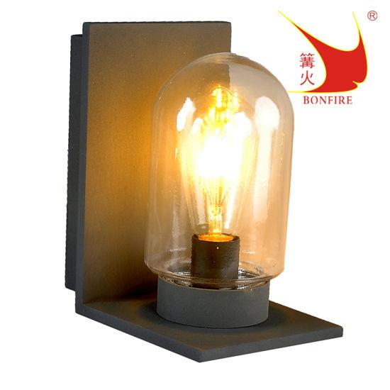 IP54, Aluminum Housing, E27 Lamp Holder, Outdoor LED Wall Light