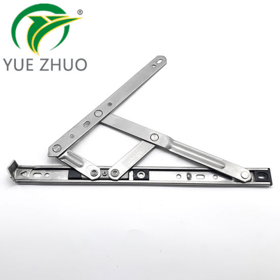 Adjustable Stainless Steel Aluminum Casement Window 12inches Friction Stay