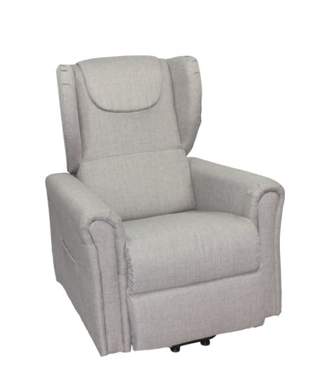 Electric Rise and Recline Chair for Old Man, Lift Tilt Mobility Chair Riser Recliner (QT LC 46)