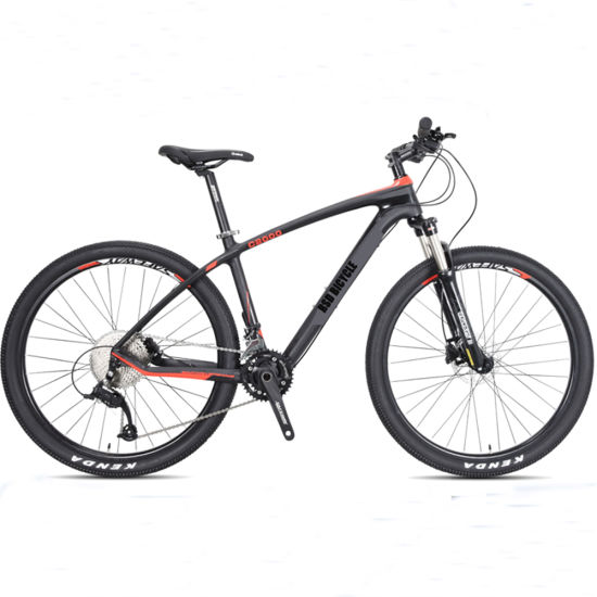 Wholesale 21speed 26 27.5 29er Carbon Fiber Aluminum Alloy Frame Disc Brake Shimano MTB Mountain Bicycle with Suspension Fork