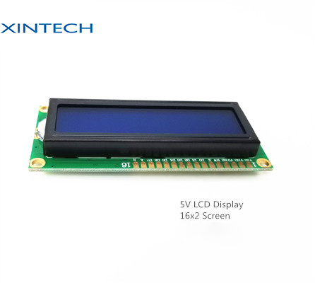 1602 16 Characters 2 Line LCD Module with Cog Yellow Green LED, White Backlight