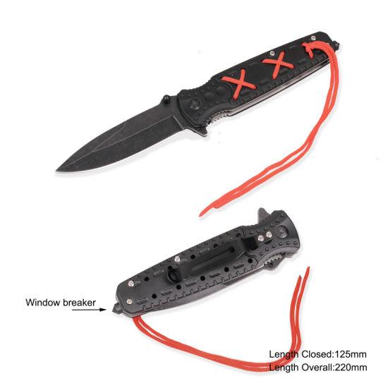 Folding Knife with Anodized Aluminum Handle (#3939)