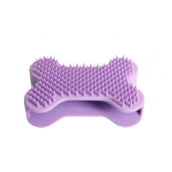 Factory Price Silicone Dog Brush Washing Pet Brushes Pet Products for Comb Matted Hair