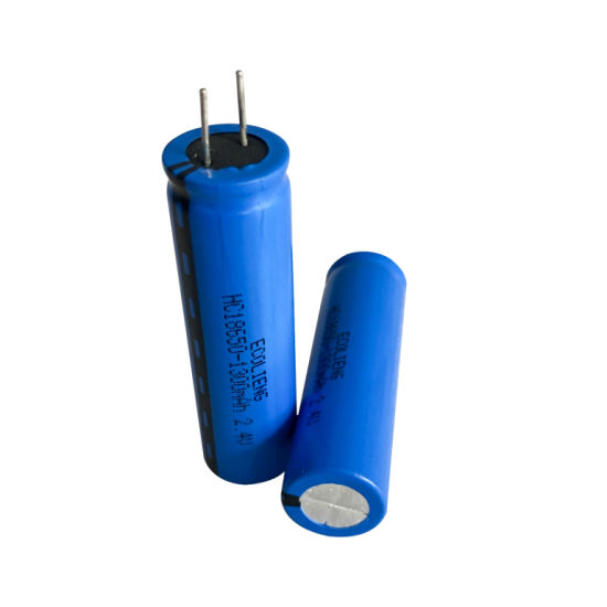 2.4V 1300mAh Lto Lithium Titanate 18650 Battery Cell for Light, Toy etc pictures & photos