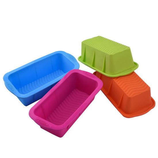 Rectangular Silicone Bread Pan Mold Toast Bread Mold Cake Tray Long Square Cake