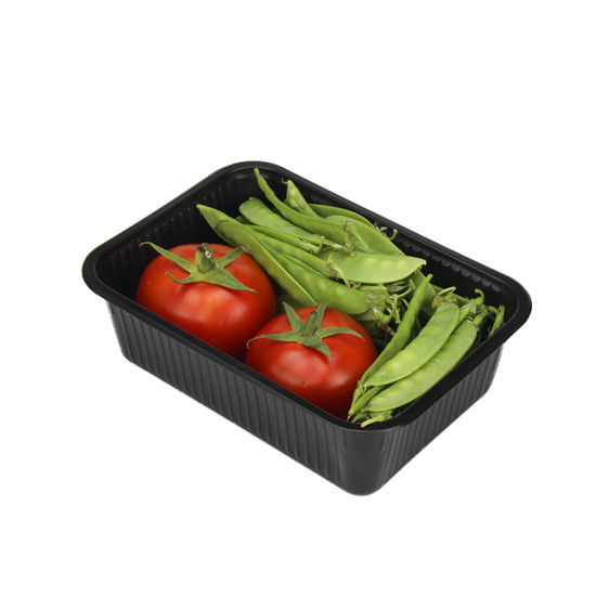 Clear Plastic Food Clamshell Packaging Disposable Plastic Blister Tray