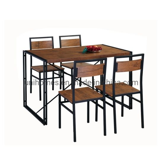 China Wholer Kitchen Dining Table, Industrial Style Dining Room Chairs