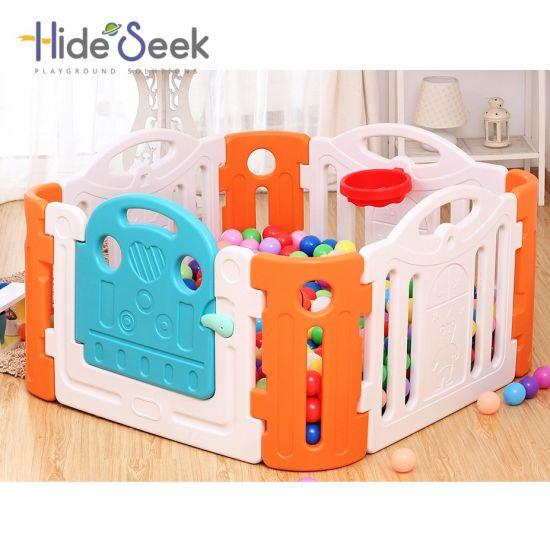 Plastic Baby Playpen (HBS17038A)