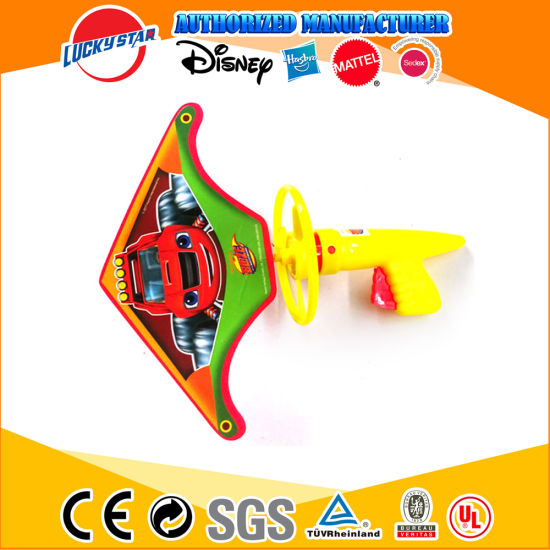 Hot Selling Plastic and EVA Material Glider Toys Set with Flywheel pictures & photos