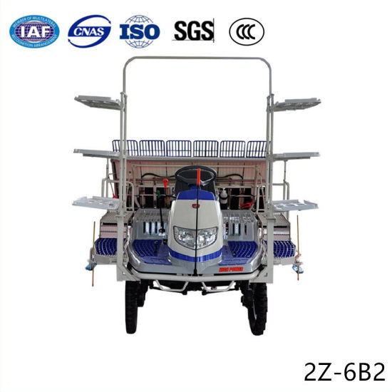 Agriculture Rice Sowing Diesel Power Automatic Seedling Planting Transplanter pictures & photos
