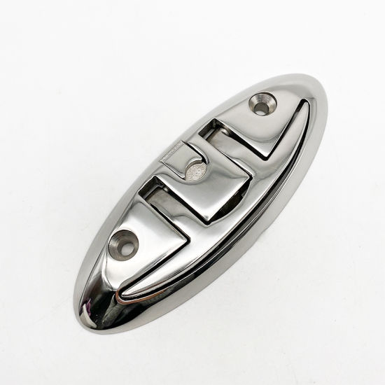 Stainless Steel Push-Pull Cleat Boat Cleat Marine Hardware Accessories