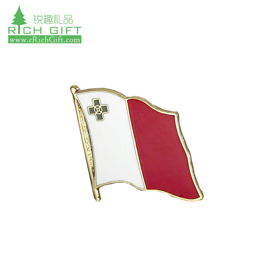 Wholesale Pack of 6 India Country Flag Bike Hat Cap lapel Pin