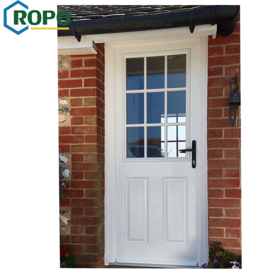 China Hurricane Impact Pvc Front Entry French Door Double