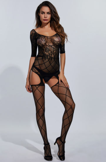 Sexy Underwear, Eyelash Appeal Jumpsuit Women Sexy Lingerie Hot Transparent pictures & photos