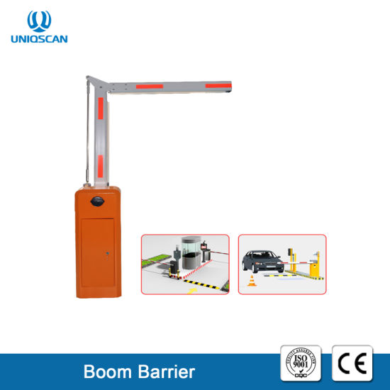 180 Degree Folding Arm Barrier Gate Parking Lot Automatic Boom Barrier  System Gate