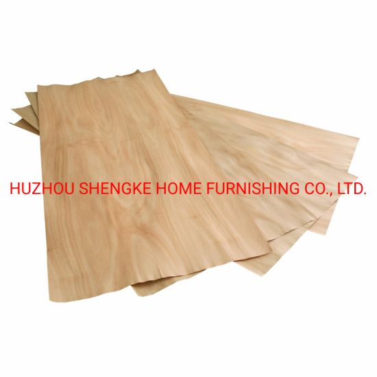 China Red Yellow Color Natural Wood Veneer Wood Mdf Particle