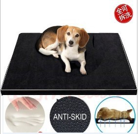 Foam Pad for Dog with Washable Cover & Non-Slip Buttom