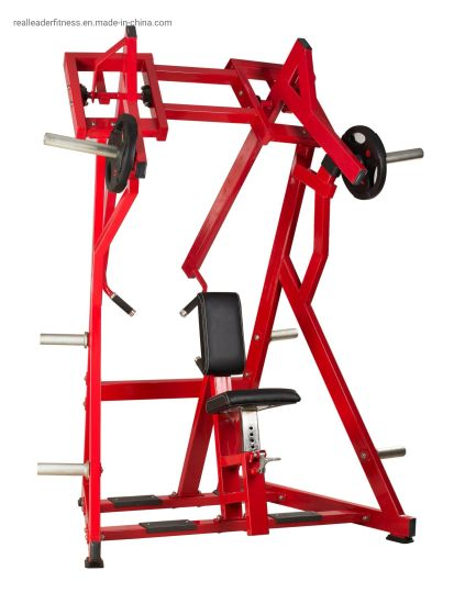 Hot Sale Commercial Gym Equipment Plate Loaded Fitness Machine Strength Training Equipment