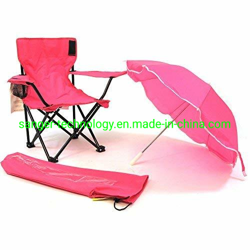 Outstanding Fashionable Hot Sales Red Color Kids Chair With Umbrella For Girls Folding Beach Chair For Children Customarchery Wood Chair Design Ideas Customarcherynet