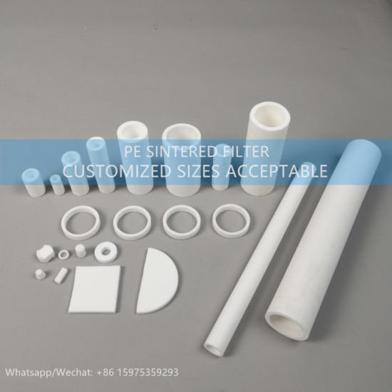 Factory Direct Sell Sintered 30 Micron PE Liquid Filter Cartridge for Perfume Adorption
