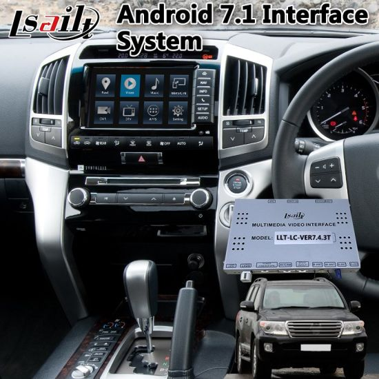 China Android Car GPS Navigation Box for 2012-2015 Toyota