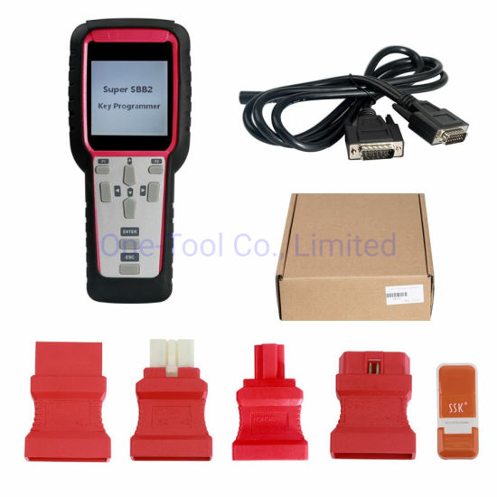 2019 Newest Super SBB2 Key Programmer for IMMO+Odometer+OBD Software+TPMS Full Function
